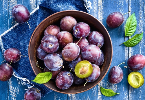 Fruits for Hair Growth - Plum