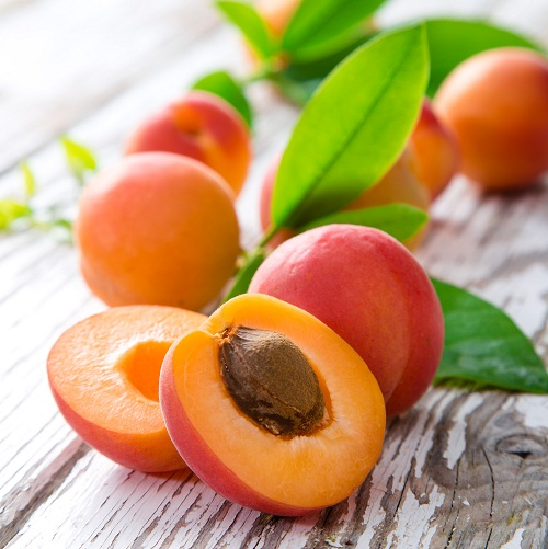 Fruits for Hair Growth - apricots