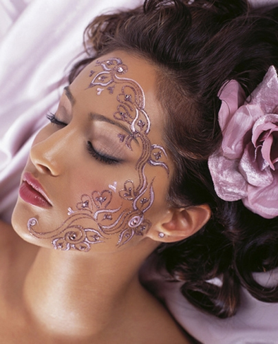 Henna Face Tattoo: 50 Best Temporary Tattoo Designs For Men And Women