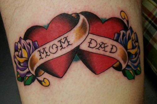 Mom Dad Heartbeat Tattoo: 15 Best Love Tattoo Designs To Make Someone Fall In Love 2019