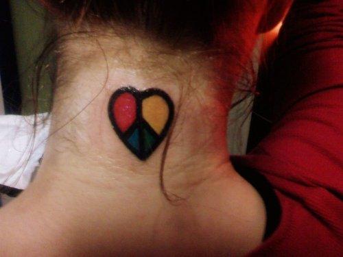 Love And Peace Tattoo