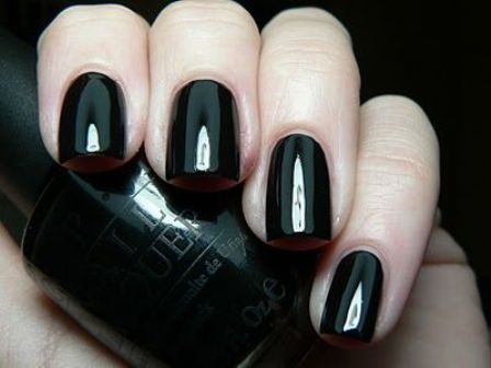 Top 10 Black Nail Polishes and Shades | Styles At Life