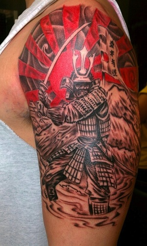 e01844c75 15 Meaningful Samurai Tattoo Designs For Men | Styles At Life