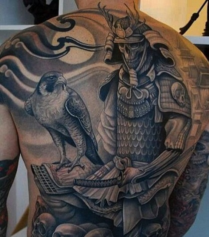 Samurai with an Eagle