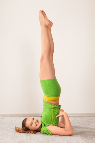 The Shoulder Stand Pose
