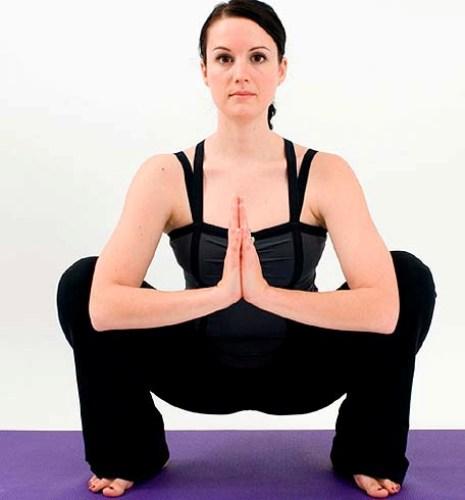 Yin Yoga Squat Pose