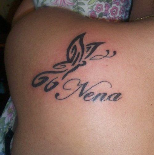 Tattoo Ideas With 3 Names: 25 Best Name Tattoo Designs For Men And Women