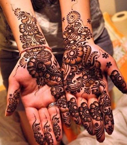 Arabic Flower Mehndi Designs for Hands