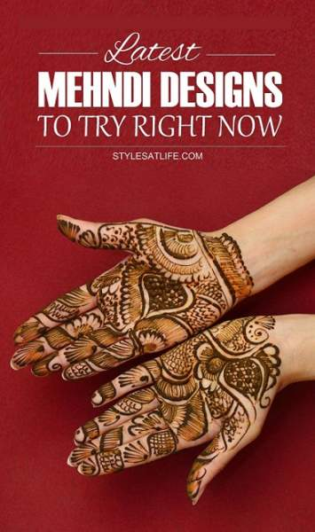 25 Latest Mehndi Designs 2015 with Pictures