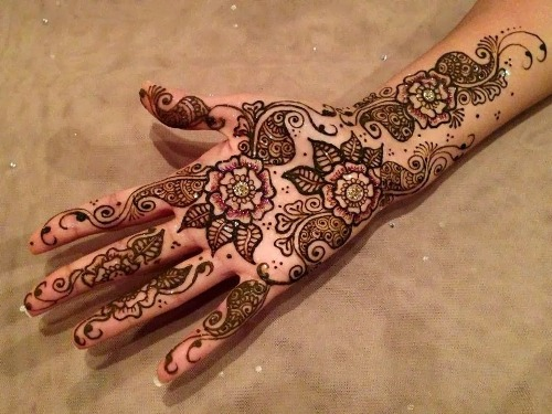Arabic Mehndi Designs 30