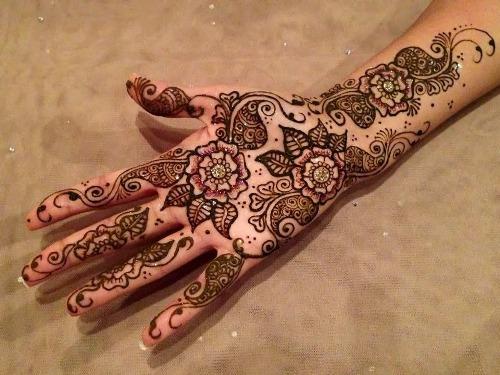 Arabic Mehndi Designs 30