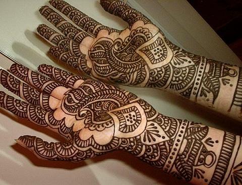 Arabic Mehndi Designs 34