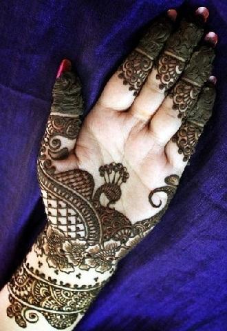 Arabic Mehndi Designs 38