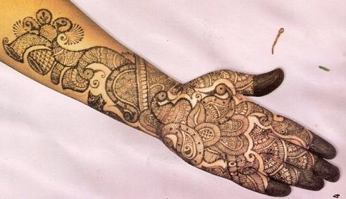 Arabic Mehndi Designs 39