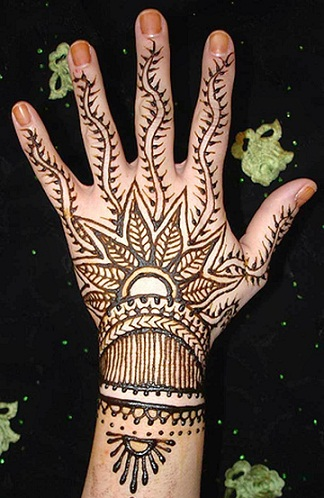 easy Arabic Mehndi Designs