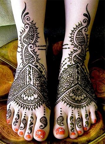 Arabic Mehndi Designs 43