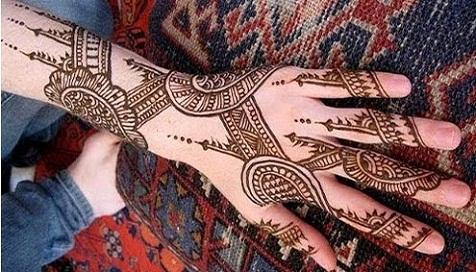 Arabic Mehndi Designs 44