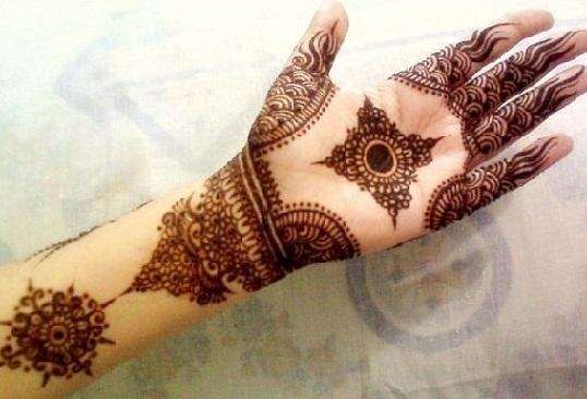 Eid Arabic Mehndi Design