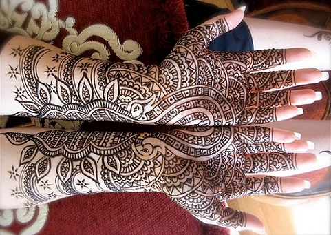 Arabic Mehndi Designs 48