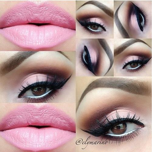 9 Beautiful Shades Of Pink Eye Makeup For Wedding | Styles At Life