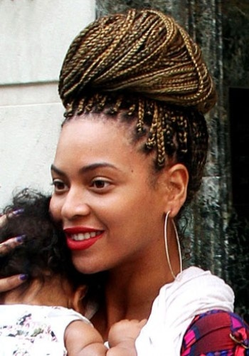 Beyonce Knowles- Braided Up-do