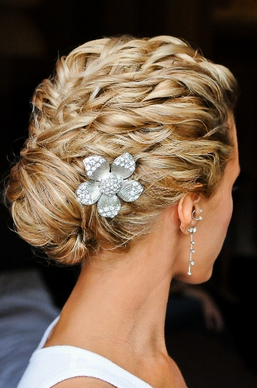 Braid Bun Look