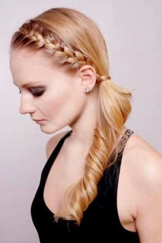 Stupendous Top 15 Side Ponytail Hairstyles With Pictures Styles At Life Short Hairstyles For Black Women Fulllsitofus