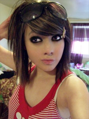 20 Best Emo Hairstyles For Girls With Pictures Styles At Life