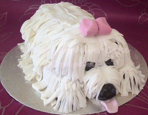 31 Doggy Design Birthday Cake