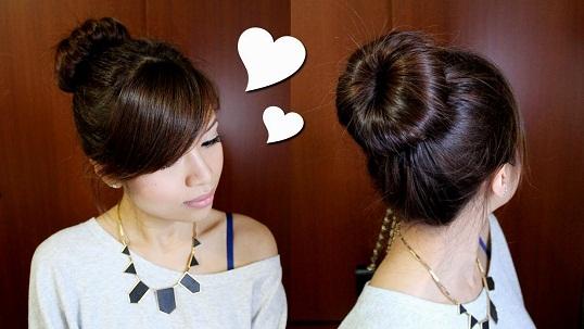 Elegant hairstyles -koreabn bun