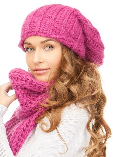 Fair skin in winter