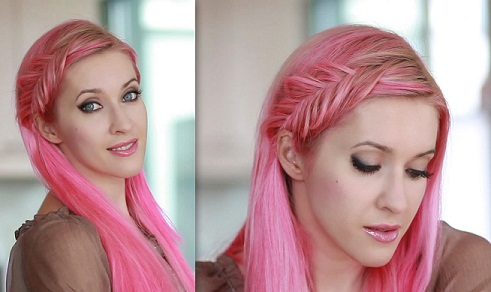 French Braid Hairstyles10