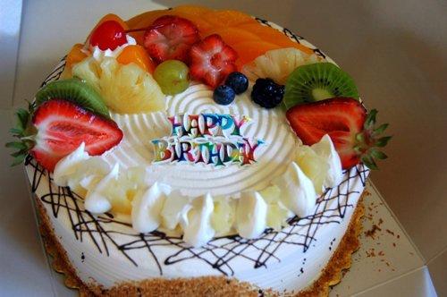 Fruit Basket Cake Design For Birthday