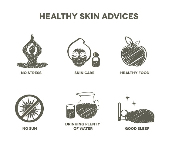 Healthy skin advantages