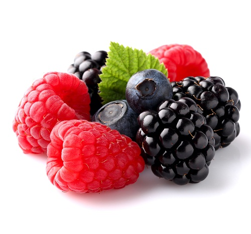 How To Reduce Abdominal Fat - Berries