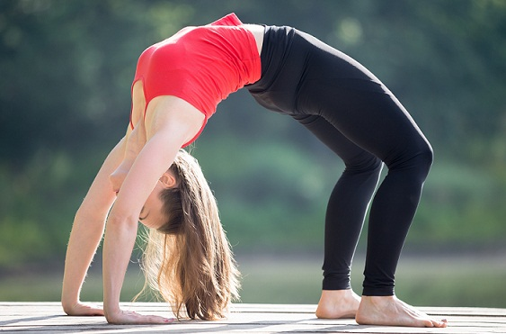 How to Increase Height After 25 Years--Chakrasana or Full Wheel Pose