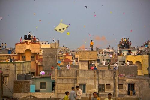 Kite Flying Festival Jan