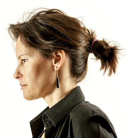 Ponytail hairstyles for short hair 9