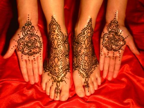 Mehndi Designs For Hands Red : Turkish beauty tips and secrets styles at life