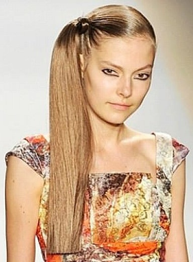 Side Ponytail Hairstyles 14