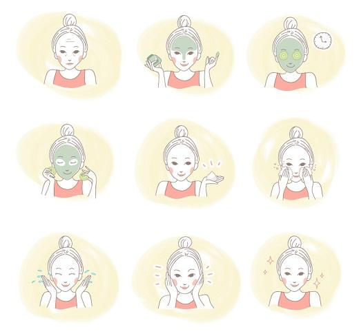 Skin care tips - facial treatment