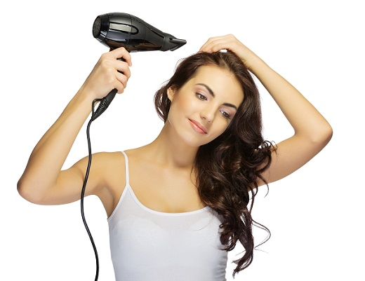 Skin care tips - hair drier