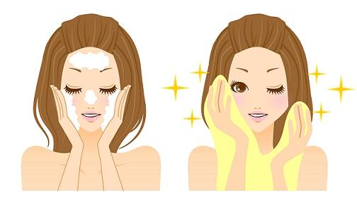 Skincare tips - soap wash