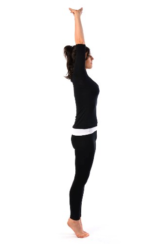 This Yoga Asana Is Known As The Mountain Pose And Very Easy To Do Can Be Done By Anyone A Recognized For Increasing Height