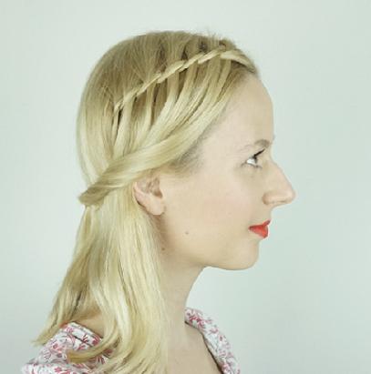 Waterfall Braid Hairstyles13