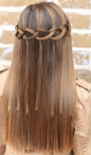 Waterfall Braid Hairstyles15