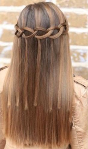 Waterfall Braid Hairstyles15