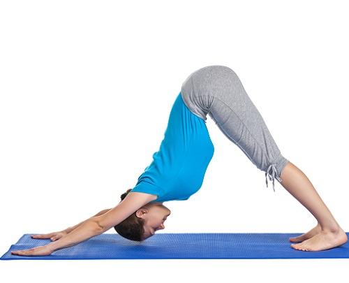 Yoga Asanas for Hair Fall - Adho Mukha Svanasana