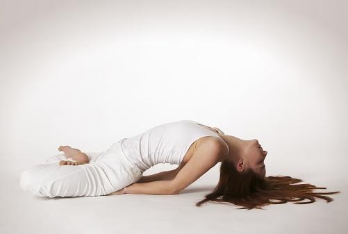 Yoga Asanas for Hair Fall - Matsyasana