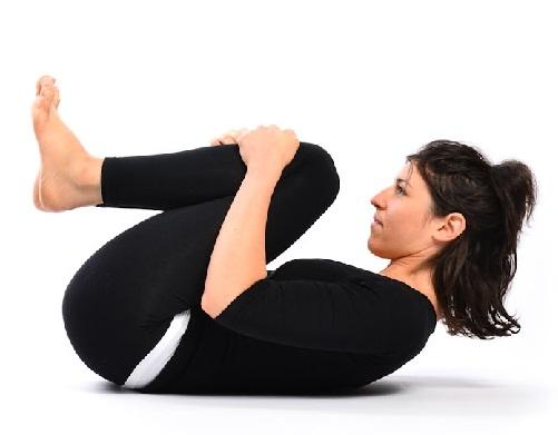 Yoga Asanas for Hair Fall - Pawanmuktasana